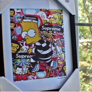 Fairchild Paris Supreme Rare Bart Simpson